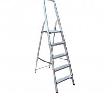 Escalera Tijera Aluminio 5 Escalones EKH5