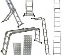 Escalera Articulada 16 Escalones c/Chapa