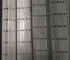 """Planchuela 1.1/4"""" x 3/16"""" de 6Mt Perforada Cuadrada"""